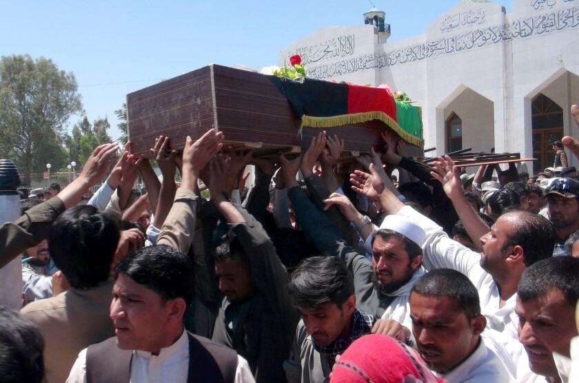 Afghanistan police officer killed in Pakistan border clash