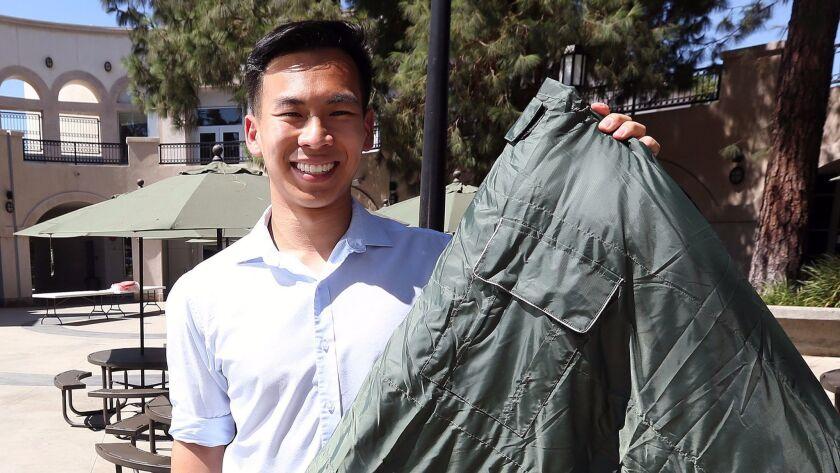 2016 Flintridge Prep graduate Vick Liu, who will be starting his second year of college at MIT next