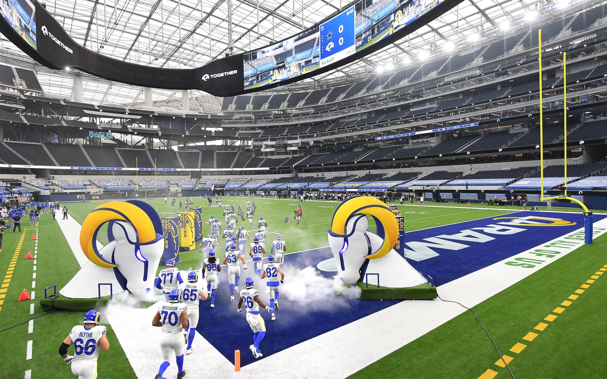 The Best Rams Stadium