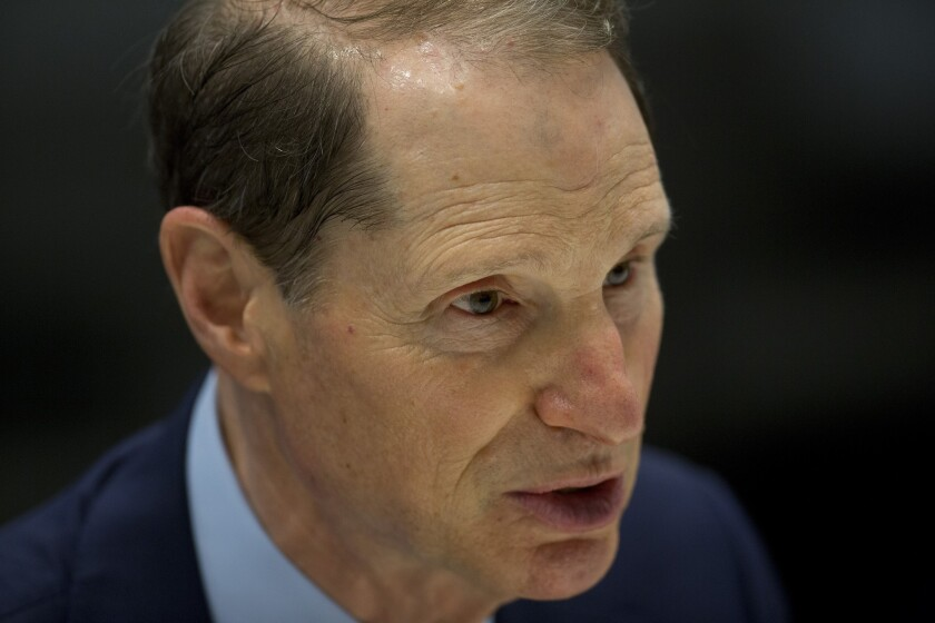 Sen. Ron Wyden plans to introduce legislation to halt a judicial rule that he worries will expand government surveillance power.