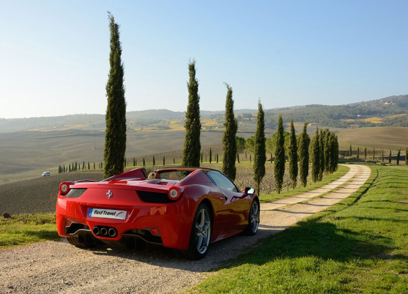 Tour Italy in a Ferrari: $26,000 to $39,000 a week