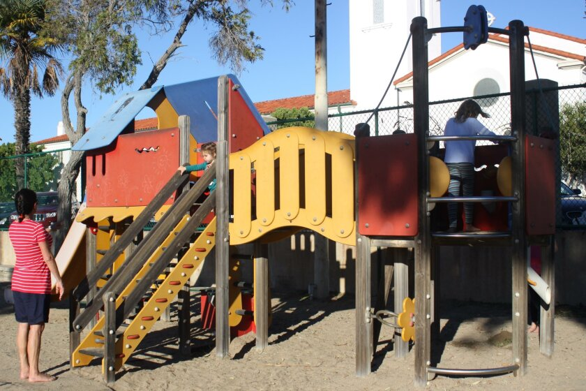The Rec Center board seeks to improve the playground equipment.