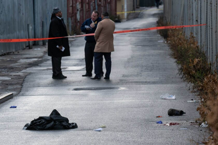 A man was found with a gunshot wound to the head lying in the roadway on Van Sinderen Ave near Blake Avenue in Brooklyn Monday morning.