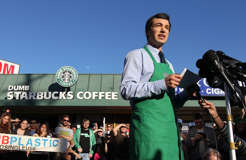 Five questions for Dumb Starbucks' Nathan Fielder - Los