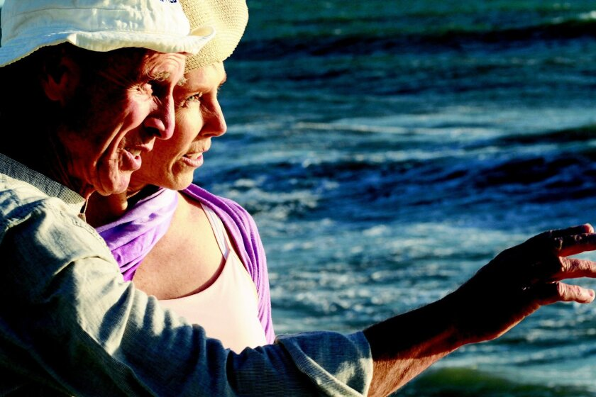"Jack Missett and Dana Case star in ""Seascape."""