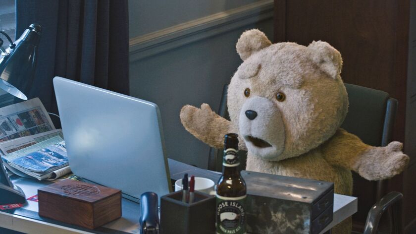 SETH MACFARLANE returns as writer, director and voice star in the movie TED 2, directed by Seth Mac