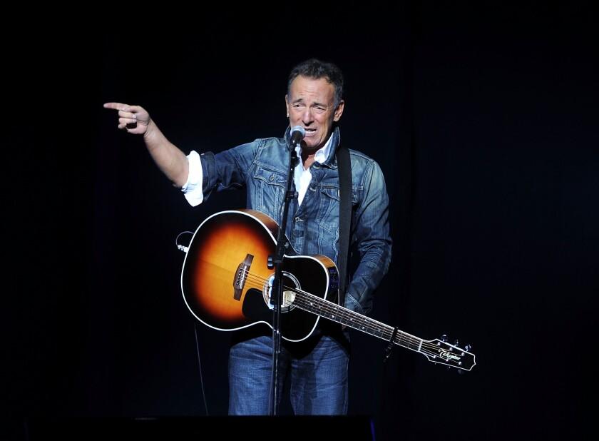 Springsteen Surprises Moviegoers