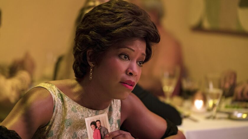 """This image released by Annapurna Pictures shows Regina King in a scene from """"If Beale Street Could"""