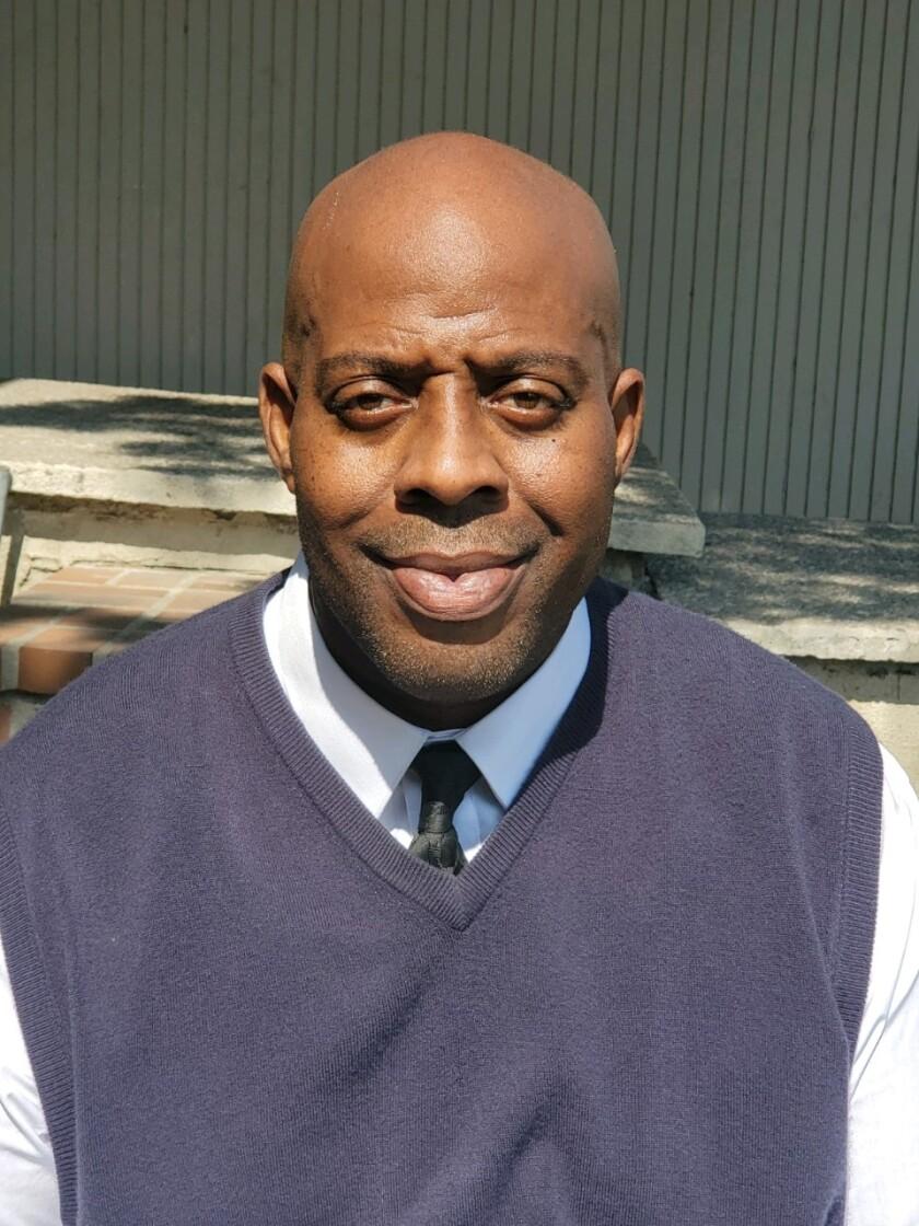 Verbum Dei first-year football coach Kevin Smith.