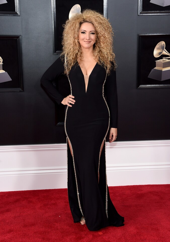 Erika Ender attends the 60th Annual GRAMMY Awards at Madison Square Garden on January 28, 2018 in New York City. (Photo by Jamie McCarthy/Getty Images) ** OUTS - ELSENT, FPG, CM - OUTS * NM, PH, VA if sourced by CT, LA or MoD **