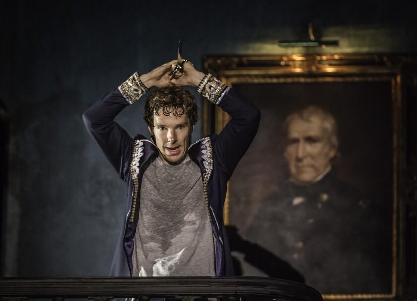 Benedict Cumberbatch's 'Hamlet' lifts London production broadcast