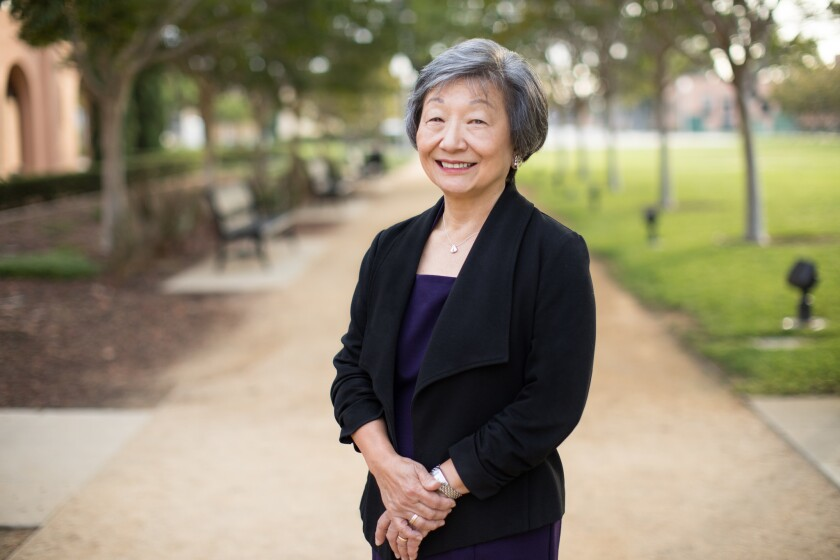Connie Matsui will receive an award for her volunteer service from the Association of Fundraising Professionals San Diego Chapter Nov. 14.
