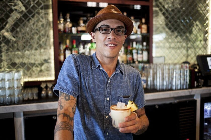 Lead bartender of Park & Rec, Tony Way