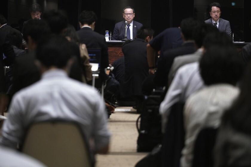 Koichiro Miyahara, president and CEO of the Tokyo Stock Exchange