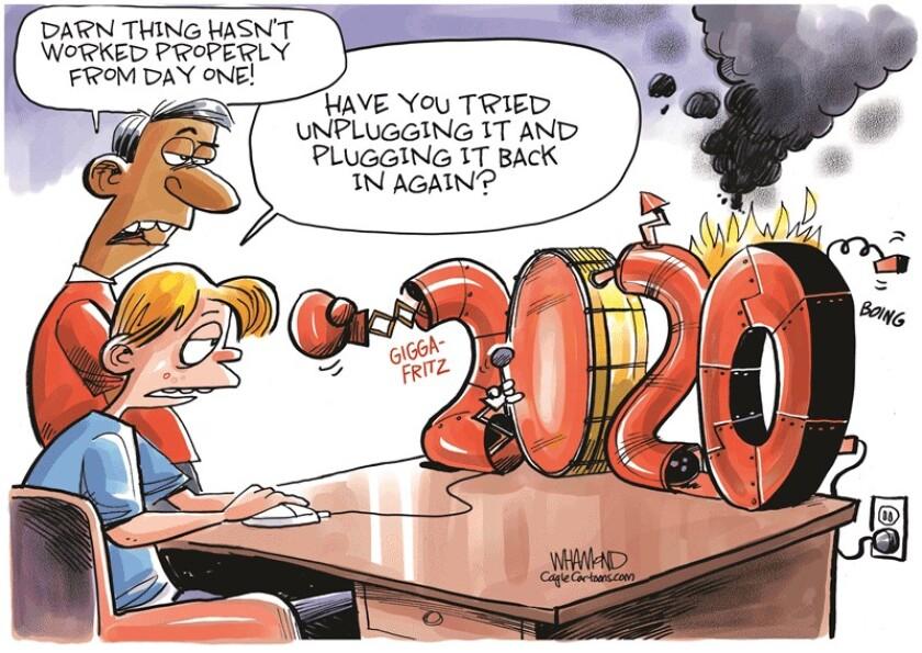 Cagle Cartoon 2020 reboot