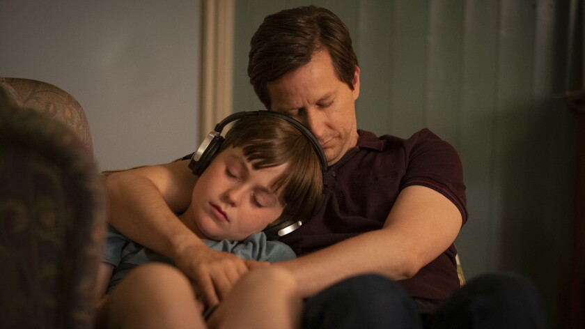 """Max Vento and Lee Ingleby in """"The A Word"""" on Sundance."""