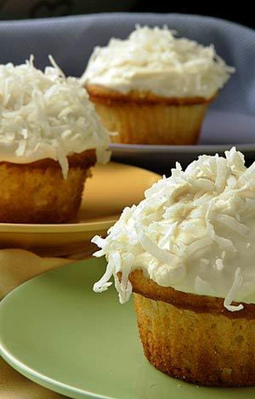 Auntie Em's Kitchen's coconut cupcakes