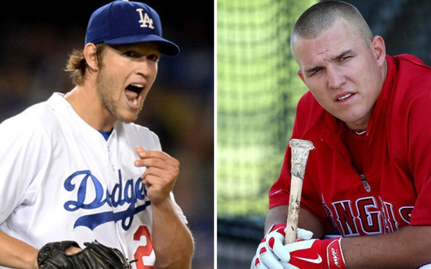 Dodgers' Clayton Kershaw, Angels' Mike Trout: Leading men, class acts