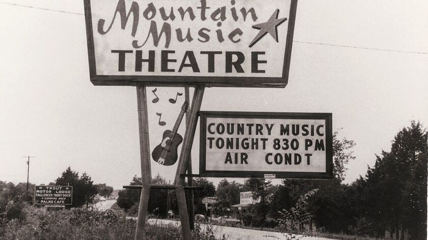 The Presleys opened their country music hall in 1967. It was one of the few places in Branson with a