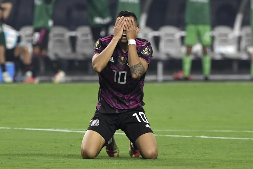 Mexico midfielder Orbelin Pineda