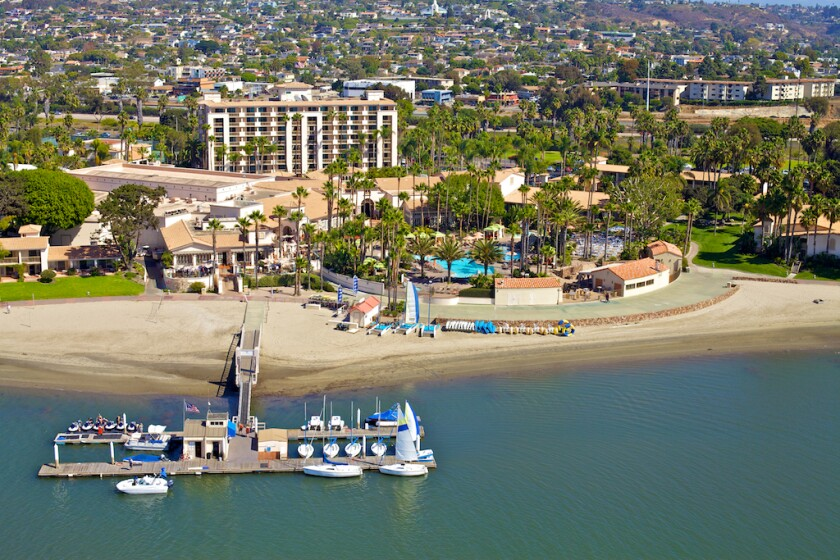 Long a Hilton-branded hotel, the newly named San Diego Mission Bay Resort is parting ways with the Hilton hotel chain following a major renovation.