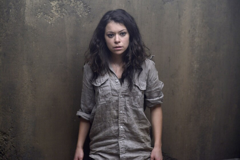"Tatiana Maslany of ""Orphan Black"" was among the Emmy surprises that Twitter embraced when nominations were announced Thursday morning."