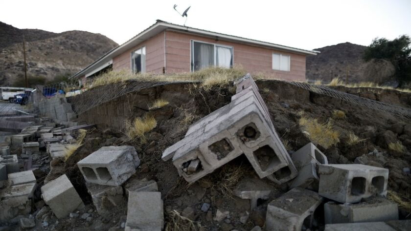California Family Displaced From Their Earthquake Stricken Home