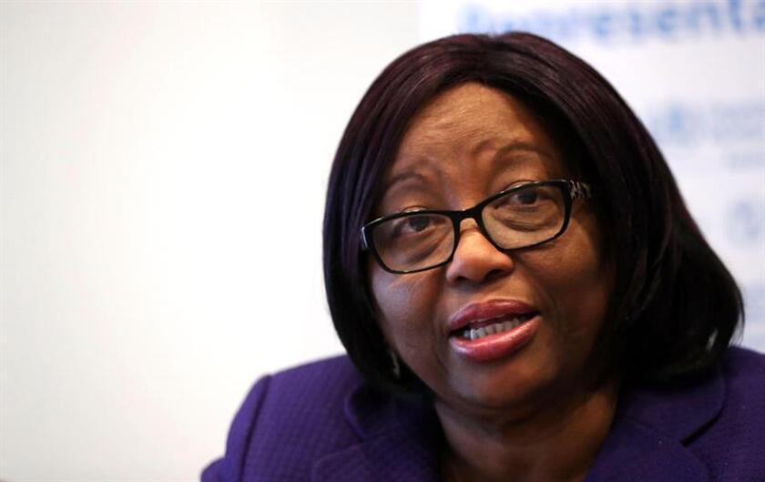 La directora regional de la Organización Panamericana de la Salud (OPS), Carissa Etienne. EFE/Archivo