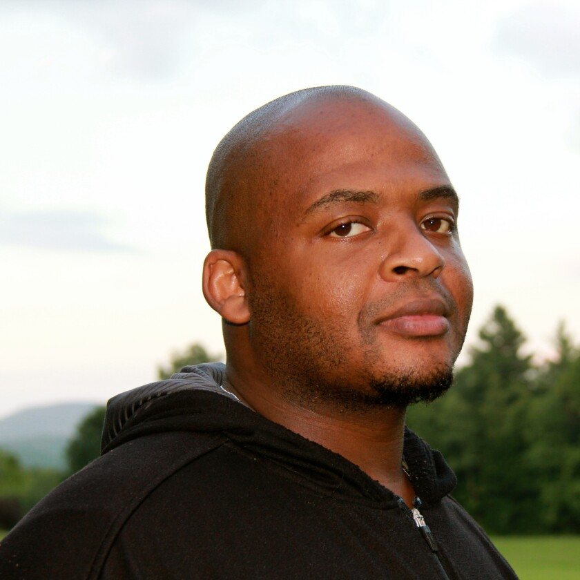 "Kiese Laymon, author of ""Heavy."""