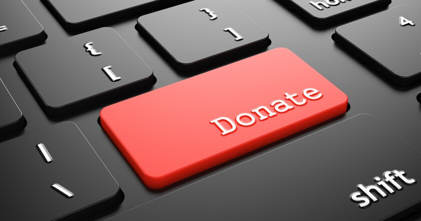 donation key on keyboard