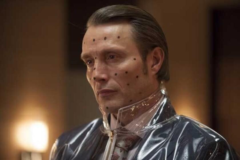 "Mads Mikkelsen in ""Hannibal"" on NBC."