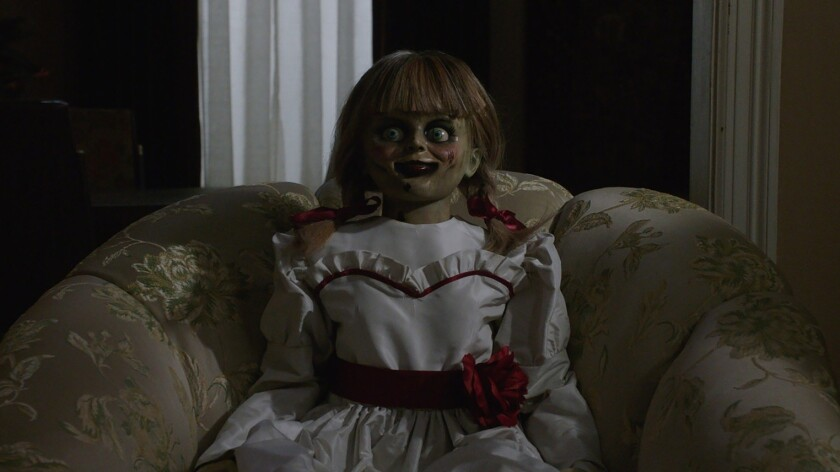 *****SUMMER SNEAKS 2019*** DO NOT USE PRIOR TO SUNDAY, APRIL 28, 2019.****The Annabelle doll in New