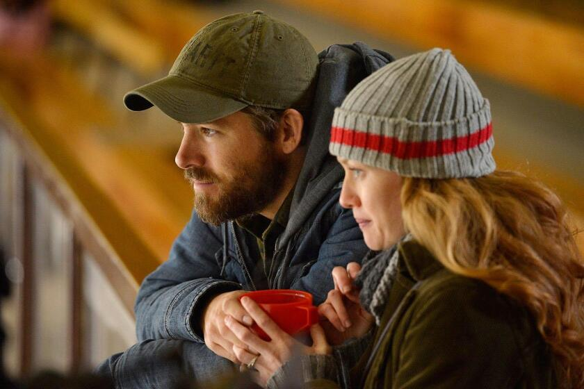 """Ryan Reynolds and Mireille Enos in Atom Egoyan's """"The Captive."""""""