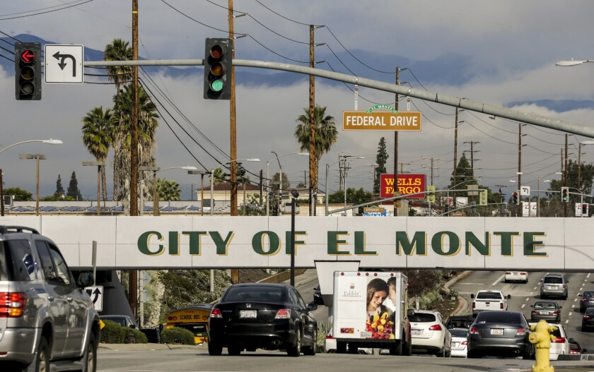 El Monte has one of the heaviest public pension burdens of any California city. More than half its 116,000 residents were born outside the U.S., and one in four live in poverty.