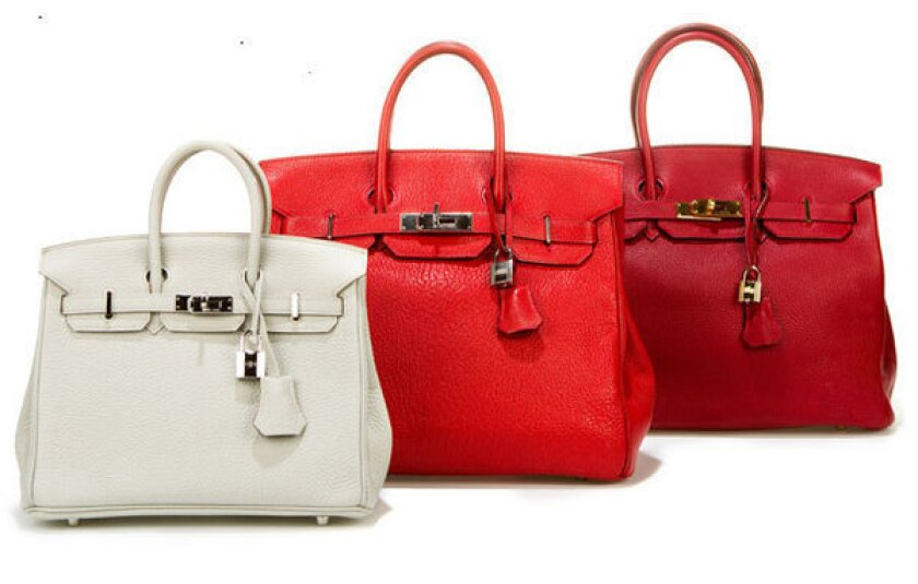 Birkin bags.