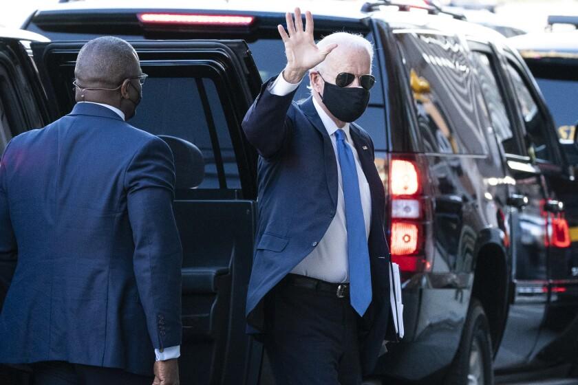 President-elect Joe Biden in Wilmington, Del., on Nov. 20.
