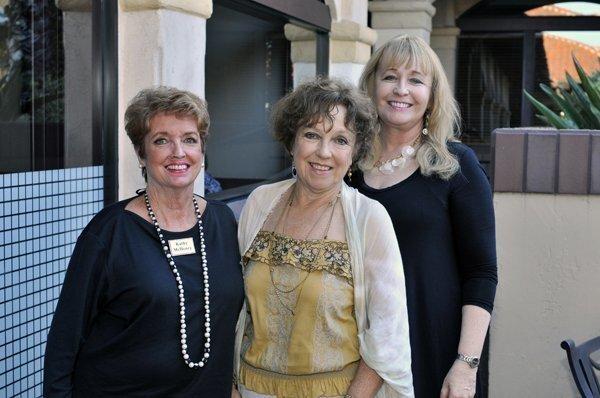 Republican Women Federated Secretary Kathy McHenry, VP Gerda Snell, Membership VP Laura Akers
