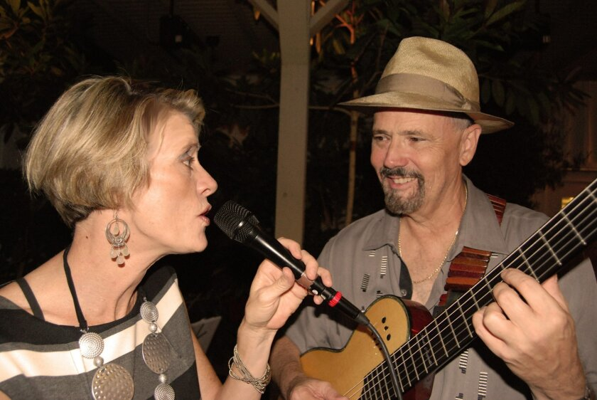 Lisa Hightower, left, and Mark Augustin. Photo by Turner Dean.
