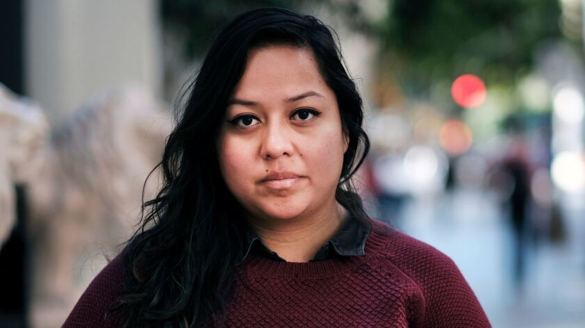 Mitzie Perez, a plaintiff in the lawsuit against Wells Fargo, came to the U.S. illegally from Guatemala at age 5. Now 25, Perez is a junior at UC Riverside.