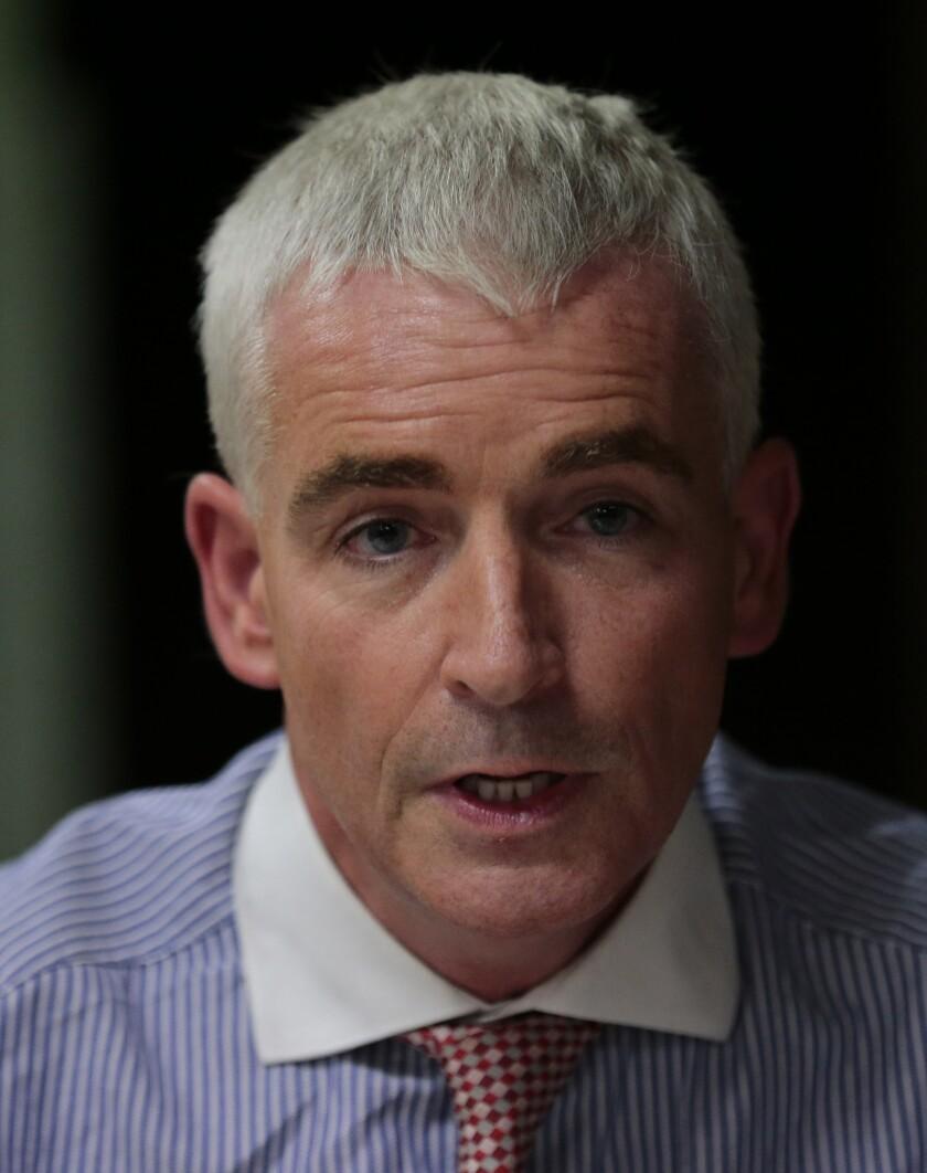 Candidate Tomas O'Grady