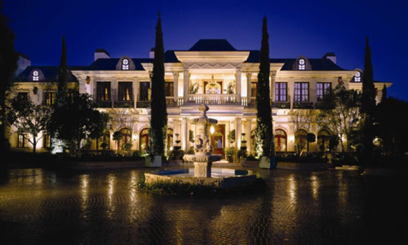 Mohamed Hadid, developer of Ritz-Carlton hotels and high-end custom homes, has listed his personal Bel-Air residence at $85 million. The 48,000-square-foot house has 10 bedrooms and 14 bathrooms, a 70-foot infinity pool, 5,000-bottle wine cellar, gym, Turkish sauna and ballroom that seats up to 250 guests.