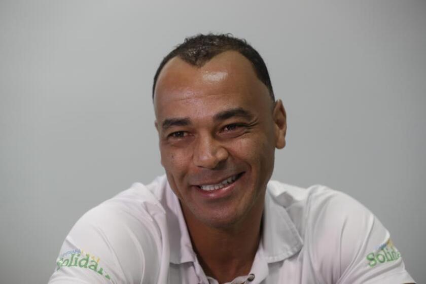El pentacampeón brasileño Cafú en una entrevista con EFE. EFE/Archivo