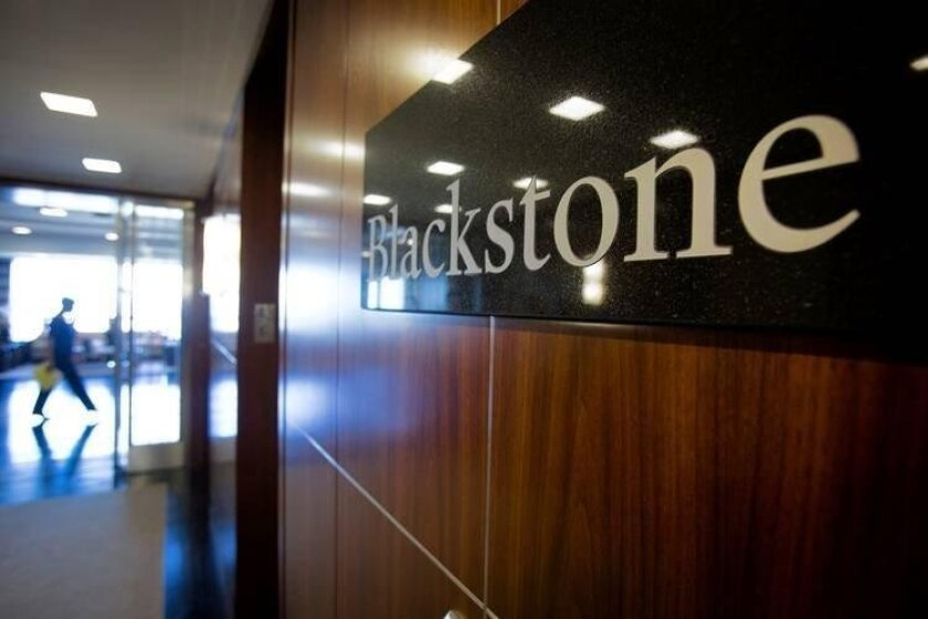 The Blackstone Group is increasing its real-estate holdings, announcing plans Thursday to acquire BioMed Realty Trust for $4.84 billion.