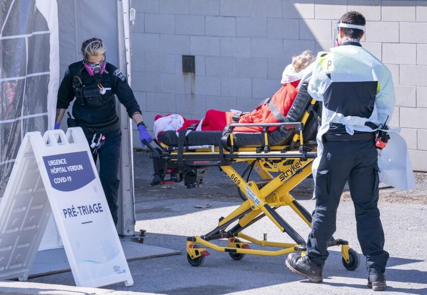Virus Outbreak Canada U.S