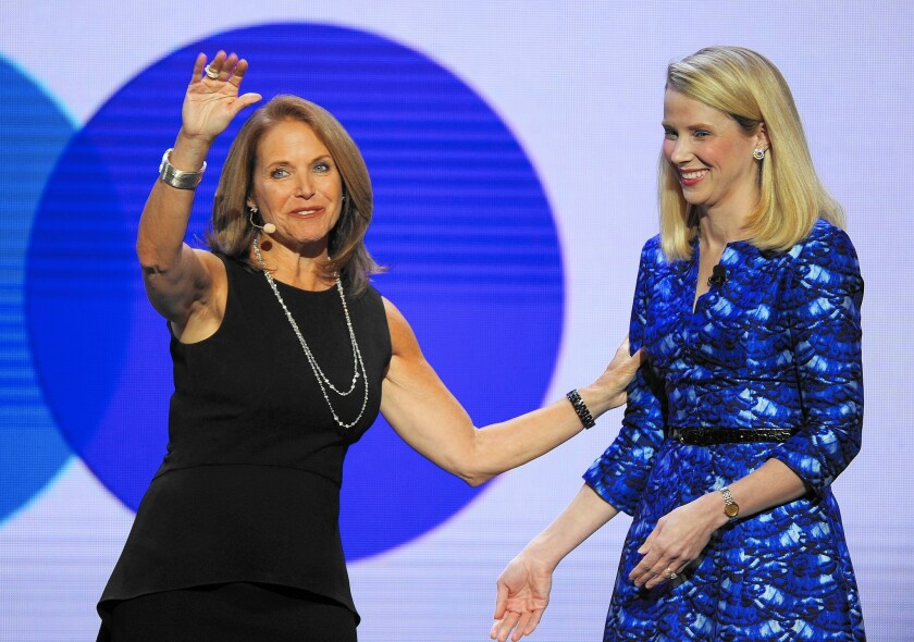 Yahoo's struggles put a spotlight on its pricey deal with Katie Couric