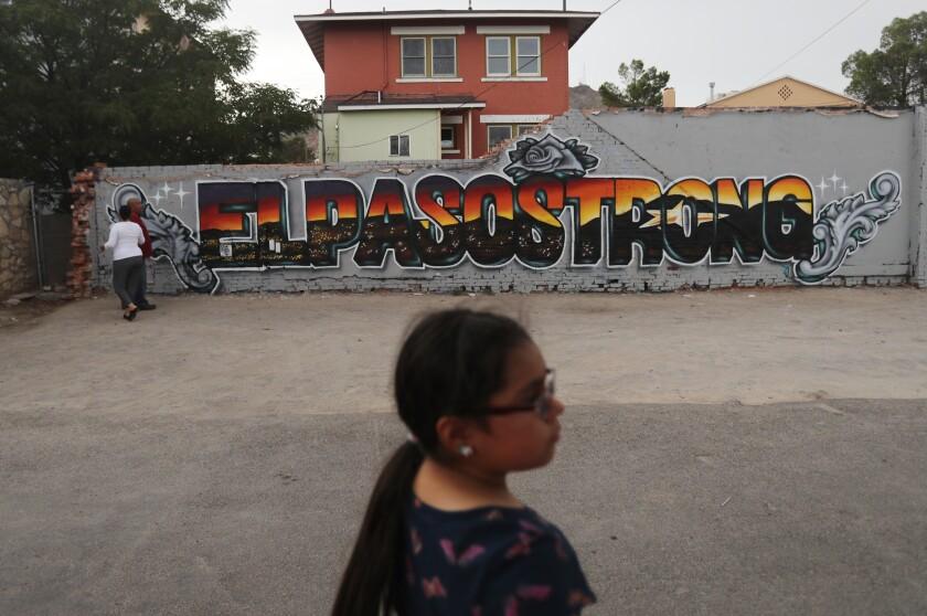 El Paso Strong mural