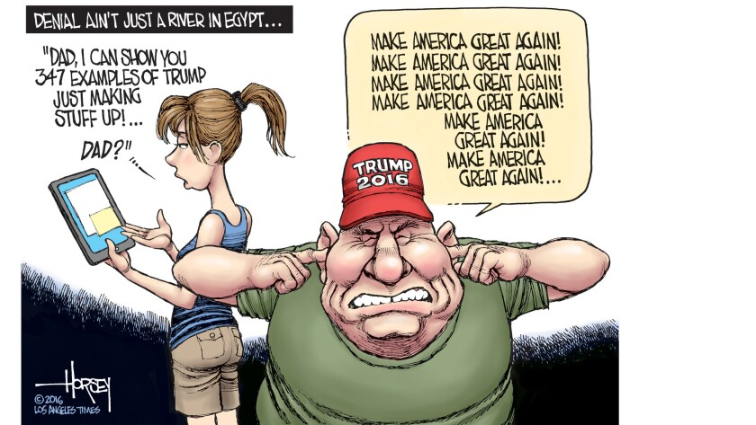 Image result for TRUMP SUPPORTERS CARTOON