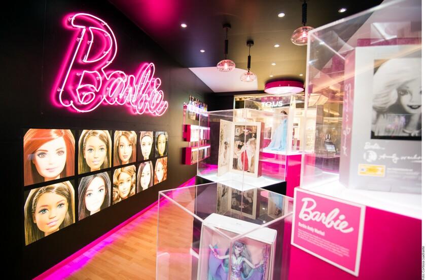 Barbie expo.