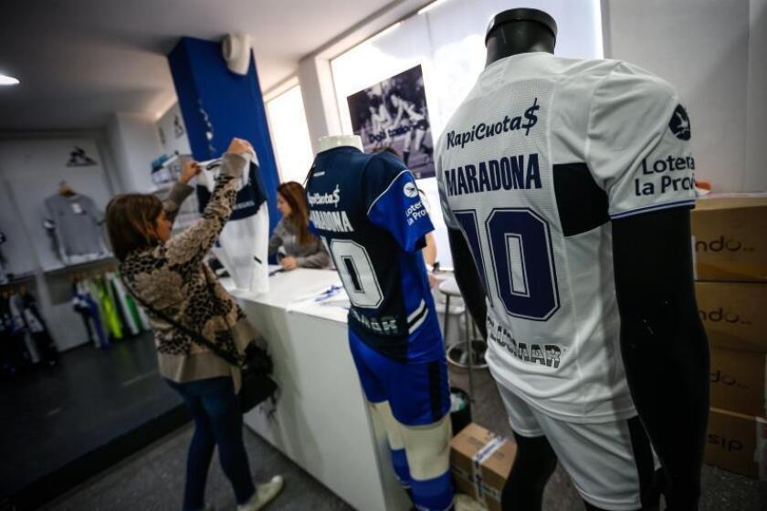 """Gimnasia y Esgrima La Plata está listo para recibir al """"huracán Maradona"""""""