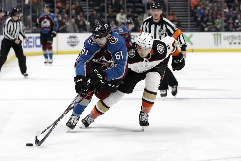 Avalanche Ducks Hockey